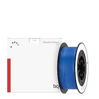 BQ 05BQFIL025 - Filamento de PLA para impresión 3D, color azul ...