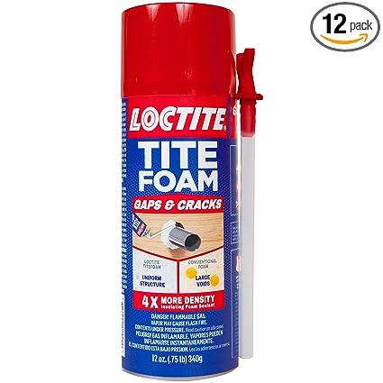 Amazon.com: Loctite TITEFOAM sellador de espuma aislante ...
