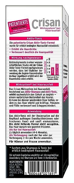 crisan aktiv tonic anti haarausfall system 150 ml
