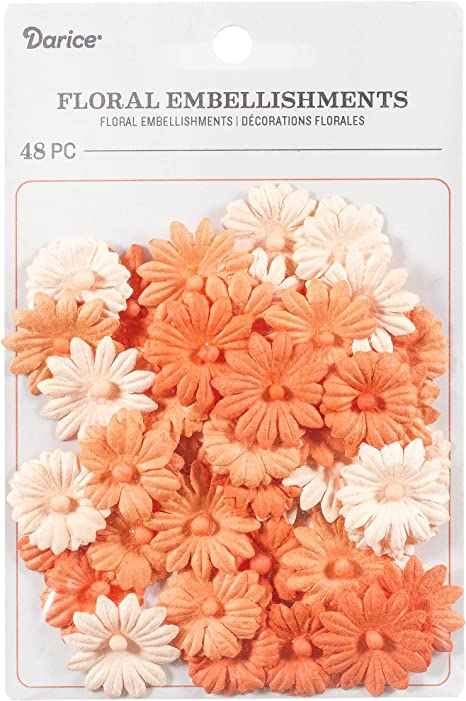 ribbon Embellishment Kit brads prima flowers buttons