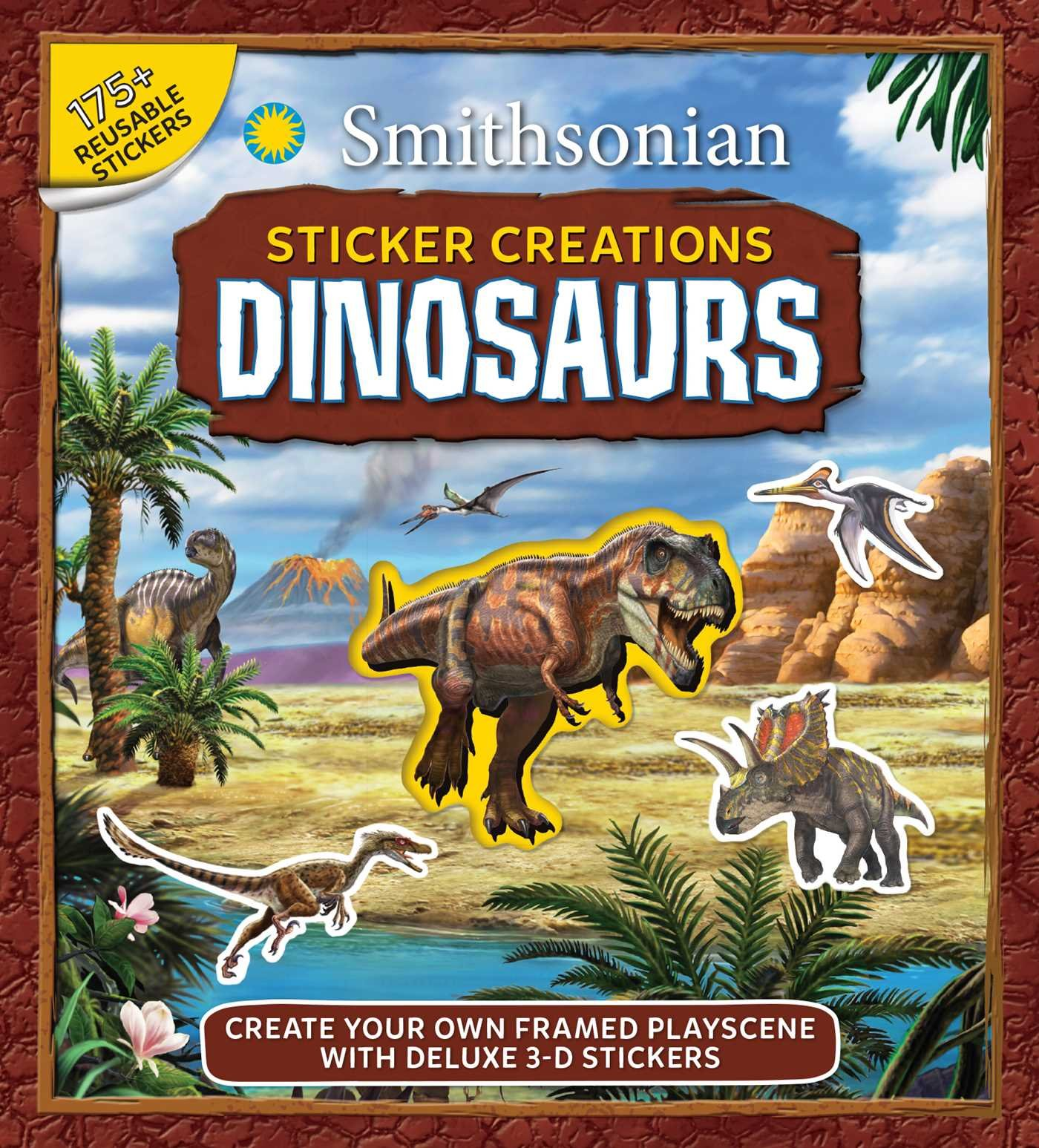 Natural History Museum Dinosaurs Autocollant SCENE ENFANTS ACTIVITÉ CRÉATRICE Livre