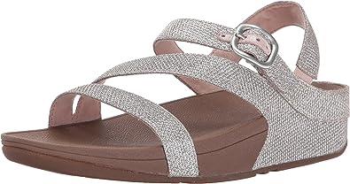 FitFlop Women's The Skinny Sparkle Z Strap Sandal Flip Flop