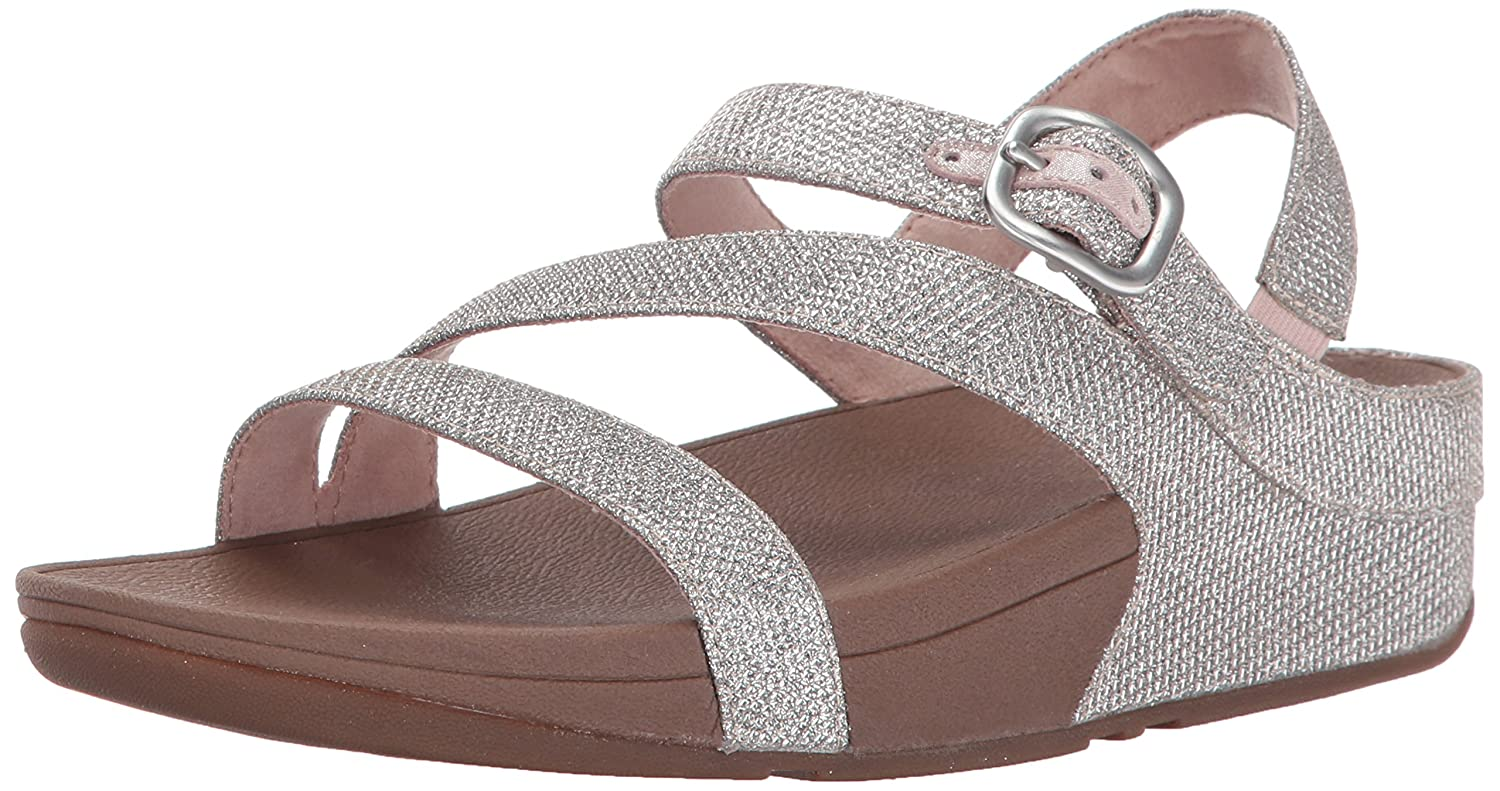 02eef5c0ce24 FitFlop Women s The Skinny Sparkle Z-Strap Sandal Flip Flop  Buy Online at  Low Prices in India - Amazon.in