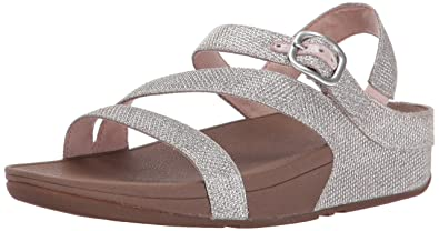 7409e4ca2 Fitflop Women s The Skinny Sparkle Z-Strap Sandal Flip Flop  Amazon ...