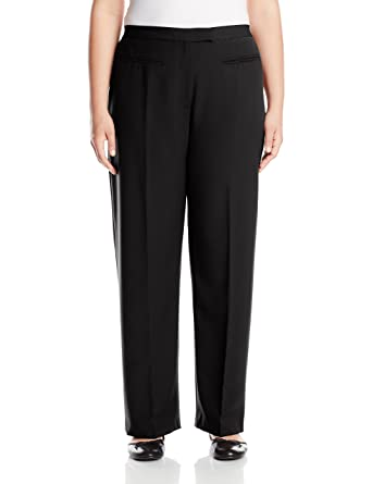 160ac791a8d Ruby Rd. Women s Size Plus Flat Front Easy Stretch Pant at Amazon ...