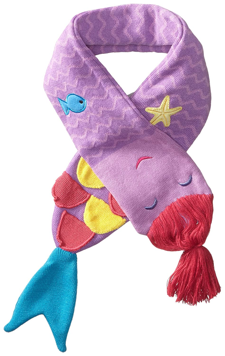 Kidorable Little Girls'  Mermaid Scarf Blue One Size Kidorable Children' s Apparel SCARF:MER