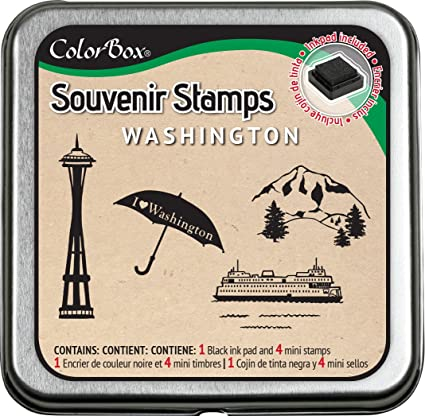 CLEARSNAP ColorBox Souvenir Stamps, Washington