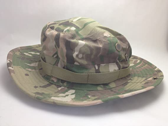 Amazon.com  Multicam boonie hat jungle camouflage hat multi one size hat  camouflage military uniform military (japan import)  Toys   Games a17a52b55991