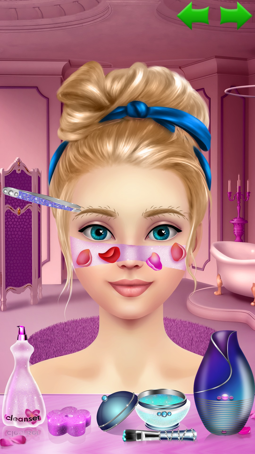 Supermodel Makeover Spa Makeup And Dress Up Game For