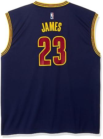 Adidas Réplica de Camiseta de Cleveland Cavaliers de la NBA, con Dorsal 23 DE Lebron
