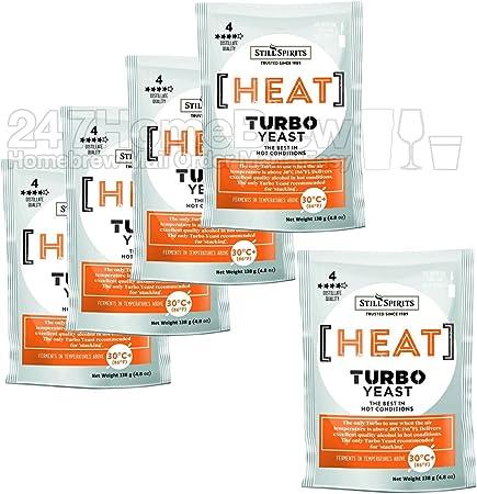 Still Spirits Heat Turbo Yeast 138g Temperature Tolerant