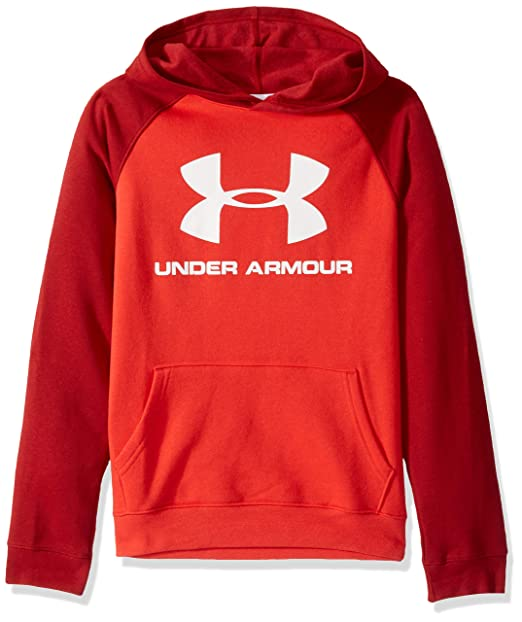 Under Armour Rival Logo, Felpa Bambino