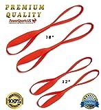 Power Sports US Softie-12 Soft Loop Tie-Down Straps, 4-Pack