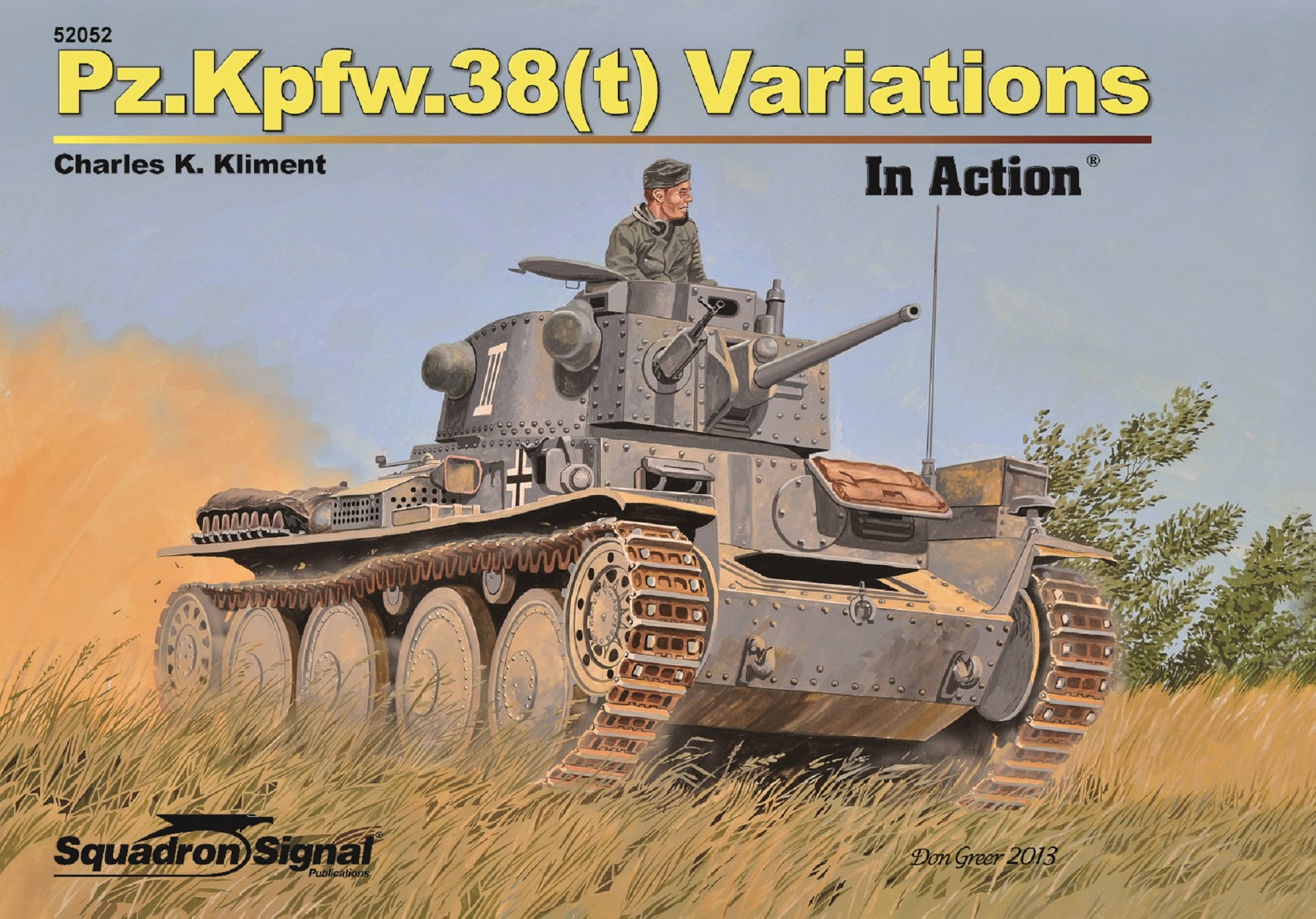Download Pz.Kpfw.38(t) Variations In Action (52052) PDF