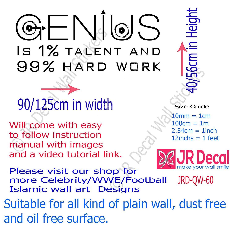 Amazon Genius Is 1 Talent And 99 Hard Work