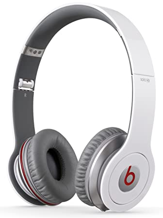 bf0a021588c Beats by Dr. Dre Solo HD On-Ear Headphones - White: Amazon.co.uk ...