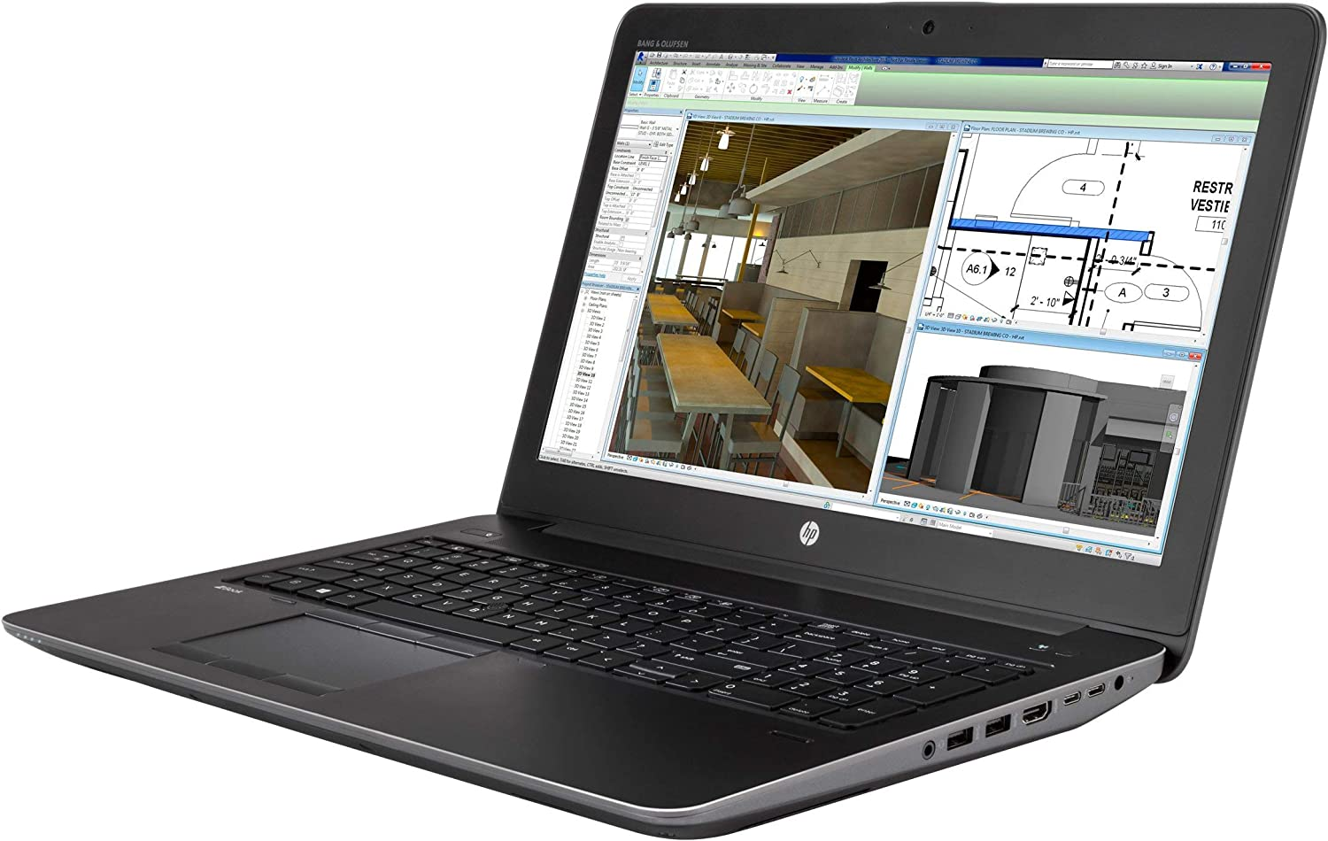 5. HP ZBook 15 G4 Mobile Workstation