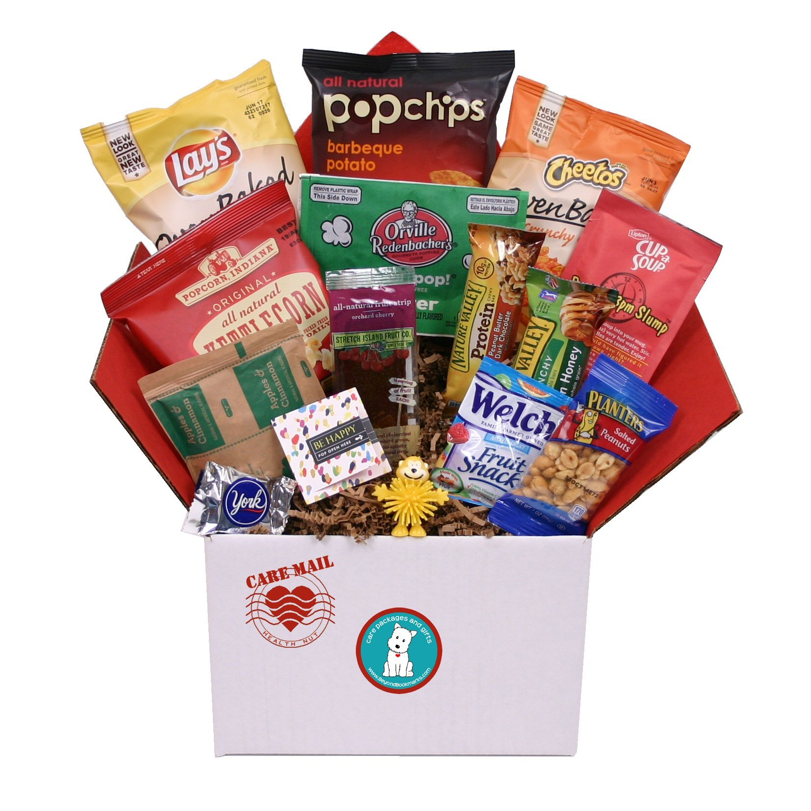 Care Mail Health Nut Value Care Package by Beyond Bookmarks