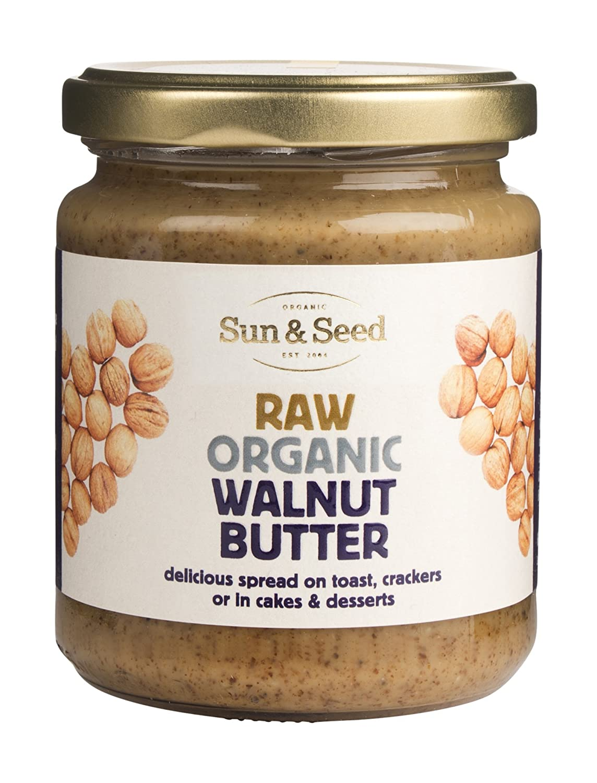 Sun & Seed Raw Organic Walnut Butter 250g