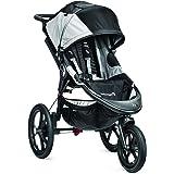 Baby jogger Summit X3 barnvagn   för alla områden   hopfällbar och bärbar   svart/grå