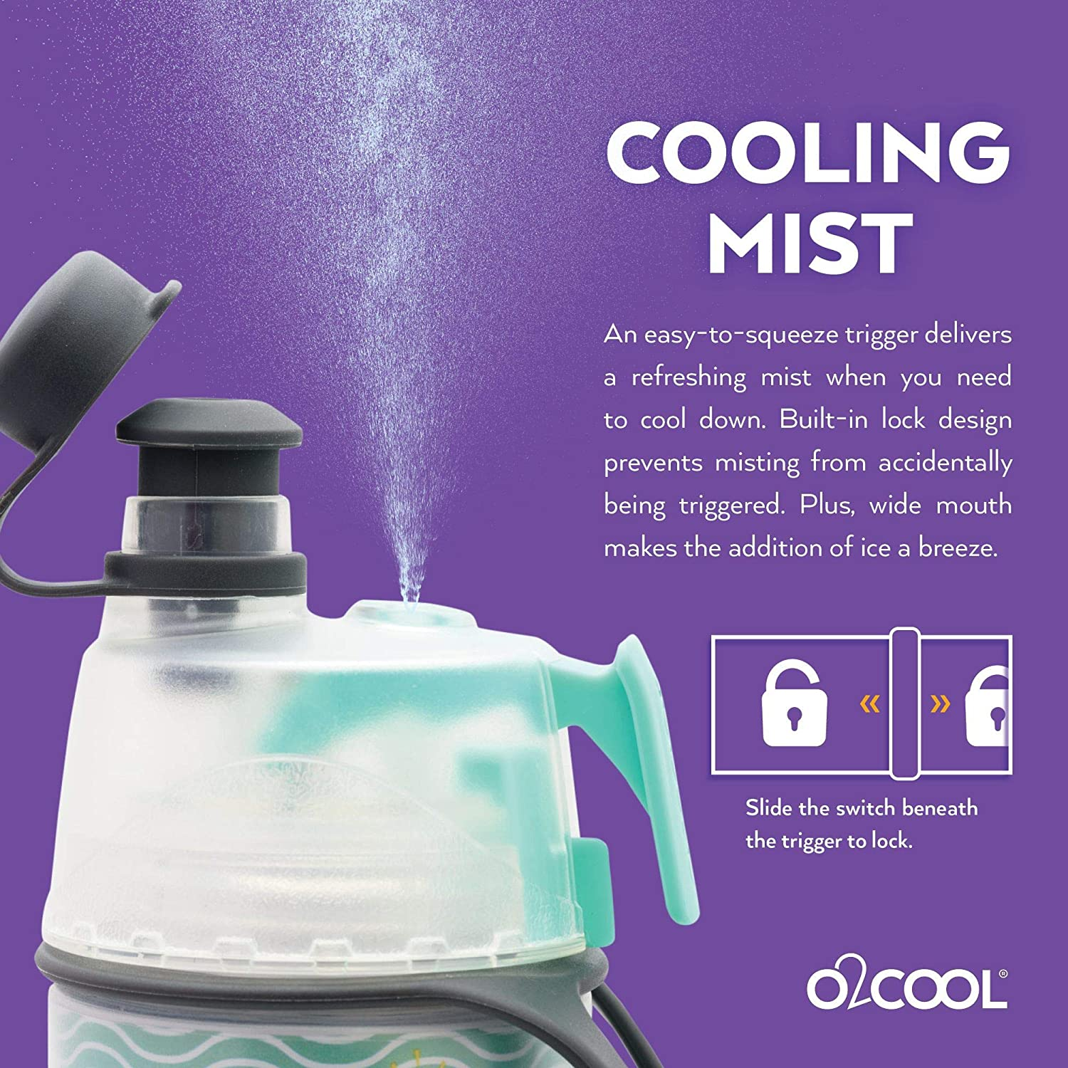 O2COOL Bottle Kids Mist N Sip Outdoor Recreation Tents & Shelters ...