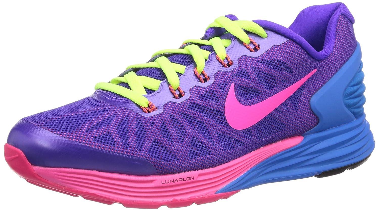 Amazon.com   Nike Lunarglide 6 (GS) Big Kid Running Shoes 654156 500, 4.5    Running