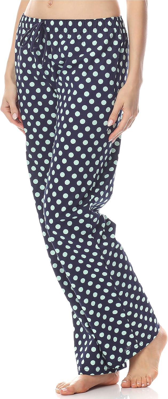 Ladeheid Bas de Pyjama Pantalon V/êtement dInt/érieur Femme LA40-119