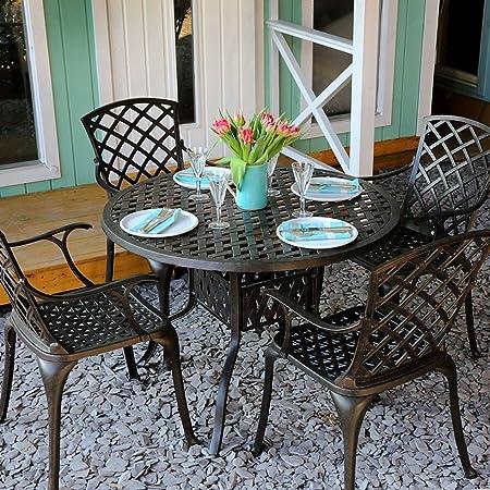 mobilier de jardin ancien table ronde