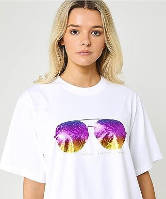 Victoria Victoria Beckham Mujeres Camiseta Sunset Sunglasses ...
