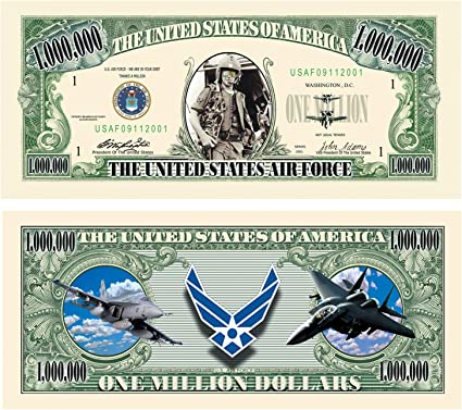 5 X 2 BOOKMARK BILLION DOLLAR NOVELTY NOTE LAMINATED SMALL