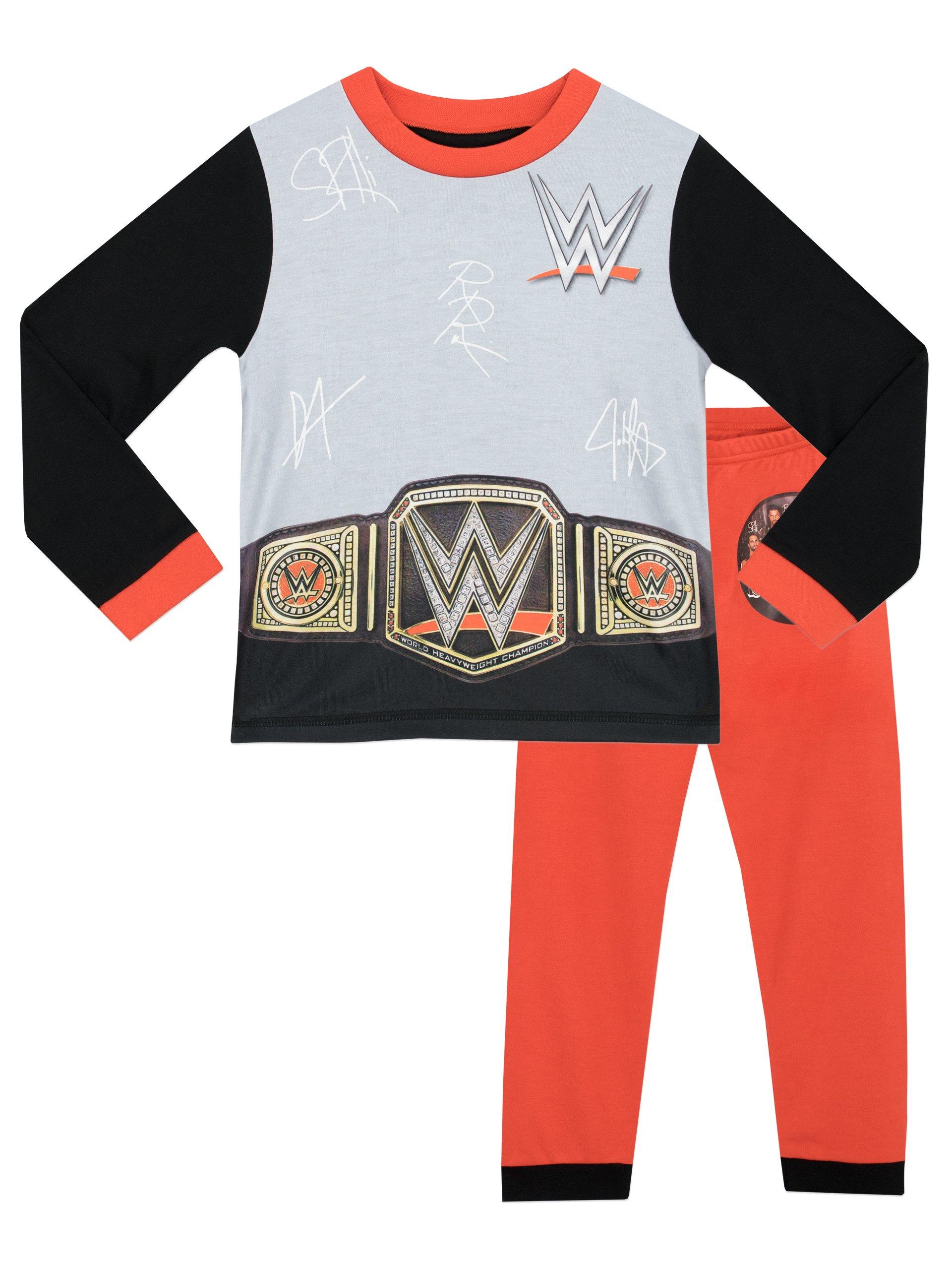 WWE Boys' World Wrestling Entertainment Pajamas Size 6