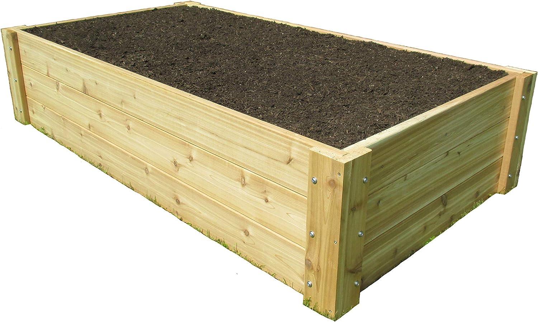 Infinite Cedar Deep Root Cedar Raised Bed Garden Kit