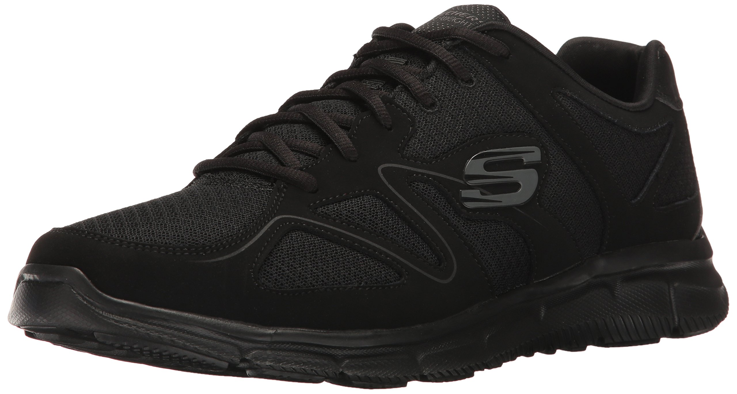 Skechers Sport Men's Satisfaction Flash Point Oxford,Black,11.5 M US