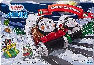 Thomas und seine Freunde Advent Calendar Thomas & Friends GGM30 Minis Adventskalender 2019, Mehrfarbig