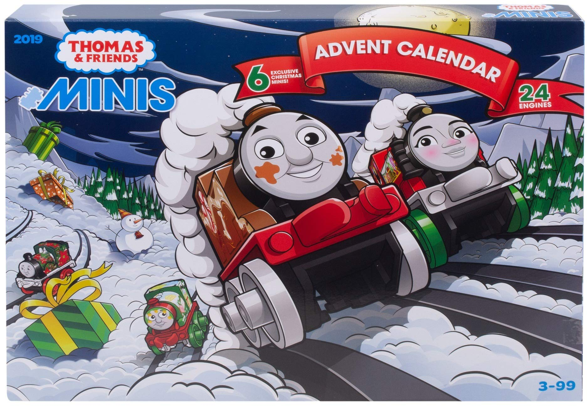 Thomas & Friends Fisher-Price Minis, Advent Calendar 2019 by Thomas & Friends