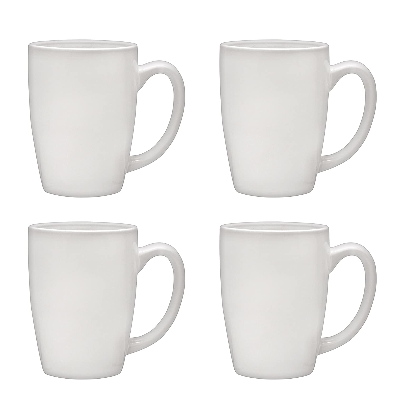 Culver Taza Ceramic Mug 16-Ounce Set of 4 (Black) SYNCHKG122208