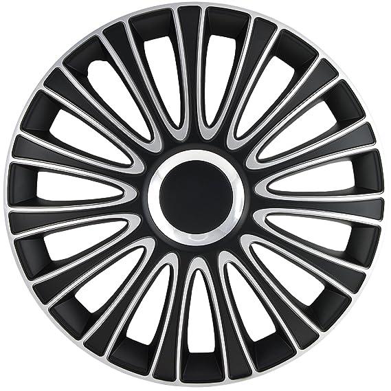 Amazon Com Alpena 58287 Le Mans Black Silver Wheel Cover Kit
