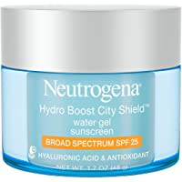 Neutrogena Hydro Boost City Shield Water Gel with Hydrating Hyaluronic Acid, Facial Moisturizer with Broad Spectrum SPF…