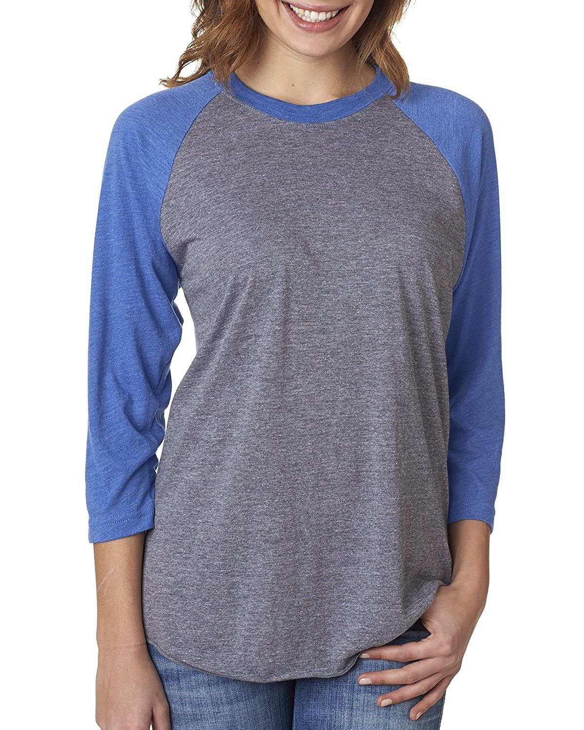Next Level-Unisex Tri-Blend Three-Quarter Sleeve Raglan Tee-6051