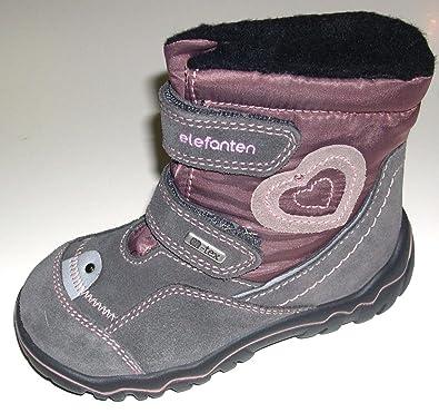 Schuhe Tex Boots Mädchen Elefanten Kinder Winter Warmfutter 3cA54RjLq