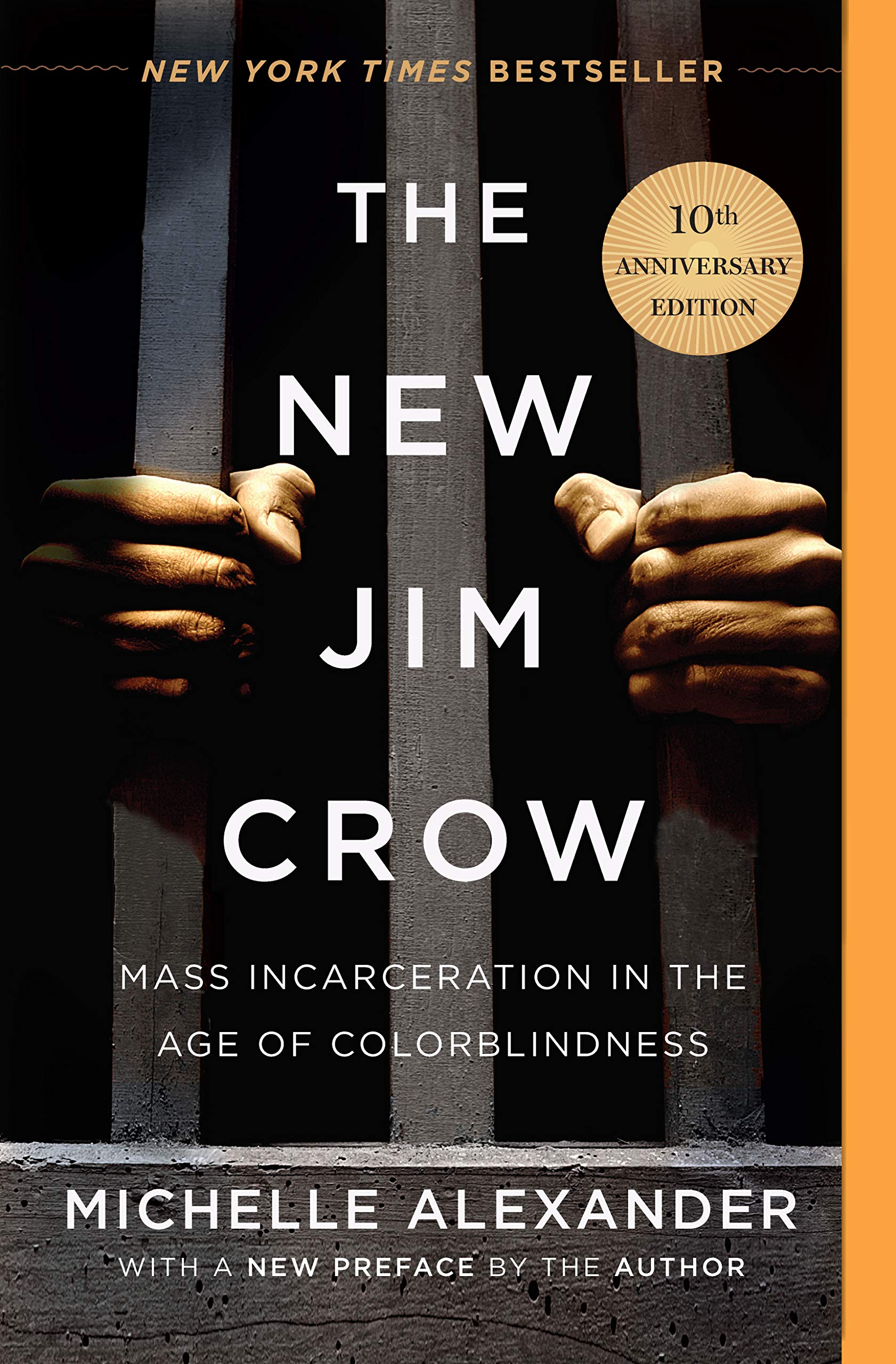 The New Jim Crow Mass Incarceration In The Age Of Colorblindness 10th Anniversary Edition Alexander Michelle 9781620971932 Books