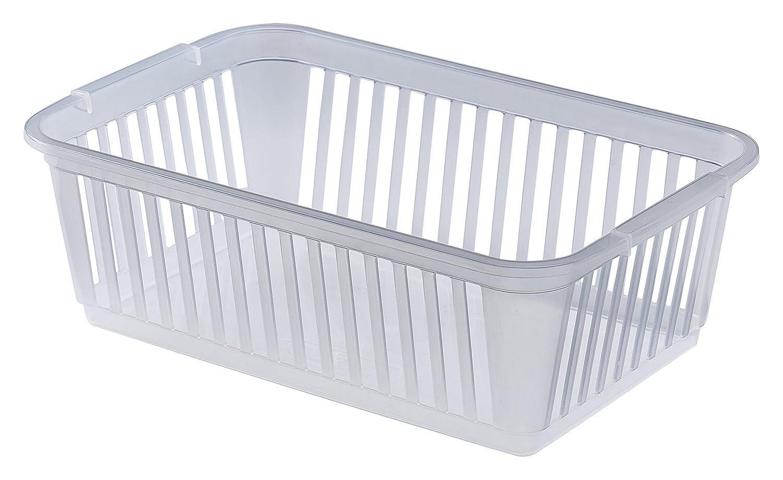 Plastic Teal Whitefurze Handy Basket 30 cm