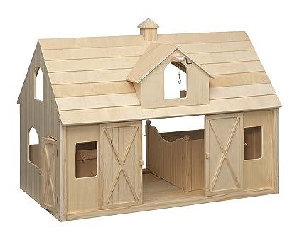 Toy Wood Horse Barn Wow Blog