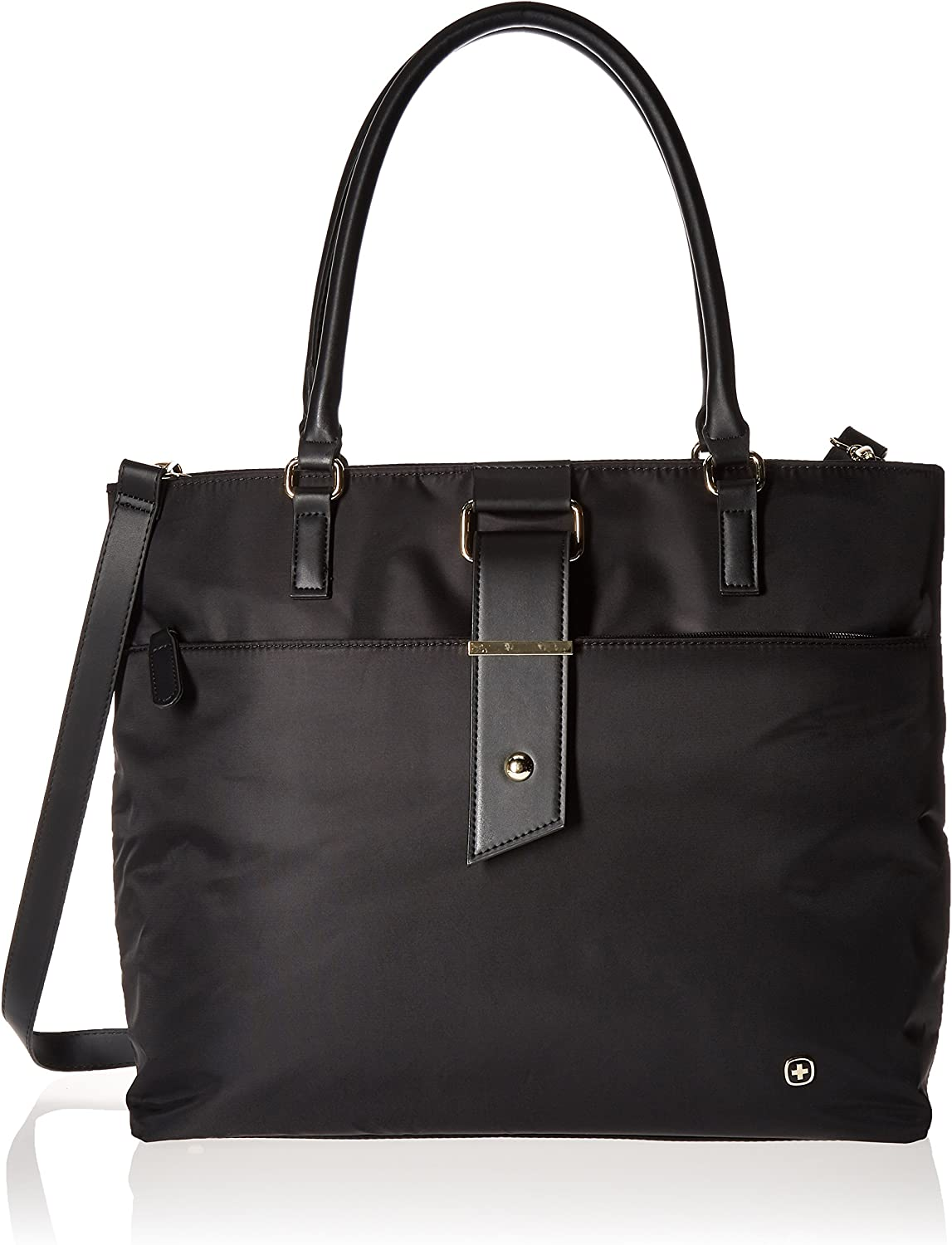 "Wenger Luggage Ana 16"" Women's Laptop Tote, Black, One Size"