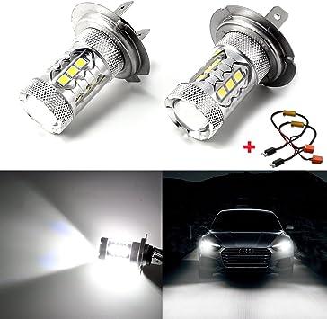 BMW 3 SERIES SALOON HID 2001-2005 2 X H11 halogen SUPER WHITE  LIGHT BULBS LAMP