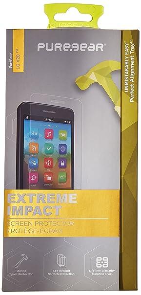 PureGear - Protector de Pantalla para LG V20 - Claro: Amazon.es ...