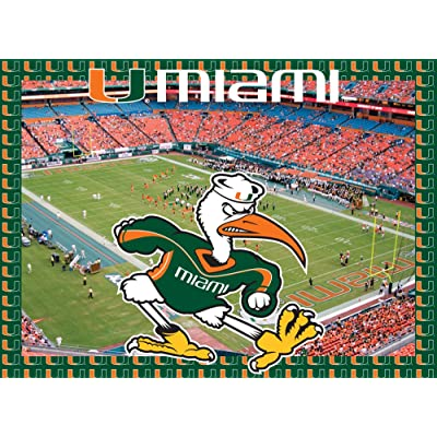 Miami Hurricanes Jigsaw Puzzle : Item Type Keyword Refrigerator Magnets : Sports & Outdoors