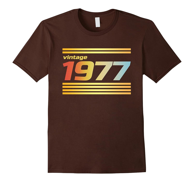 40th Birthday Gift Ideas T-Shirt - 1977 Vintage Retro Style-BN