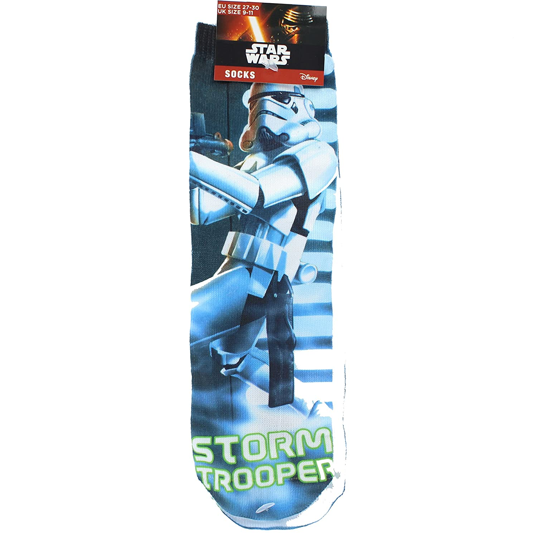 Disney Star Wars Storm Trooper Bedruckte Kindersocken - UK Size 9-11