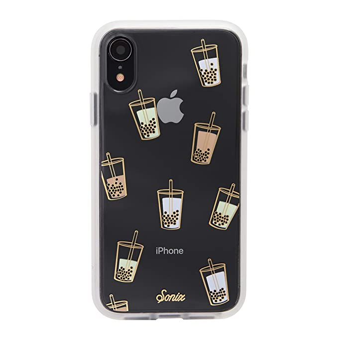 quality design a9578 e2a41 Sonix Boba (Bubble Tea) Cell Phone Case [Military Drop Test Certified]  Clear Coat Series Case for Apple iPhone XR